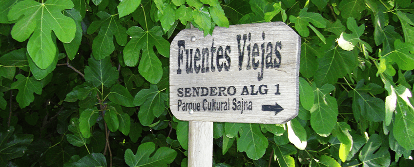 Route of Cesna Cultural Park and Villavieja